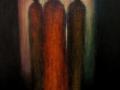 Oljemålning, 70x110cm, 2001