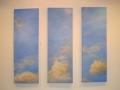 Oljemålning, (3x) 50x130 cm, 2003