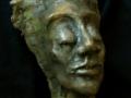 Bronsskulptur, 8x12 cm, 2005