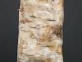 Akvarellskulptur/kollage, 14x20 cm, 2010