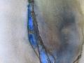 Akvarellkollage, 30x45 cm, 2000